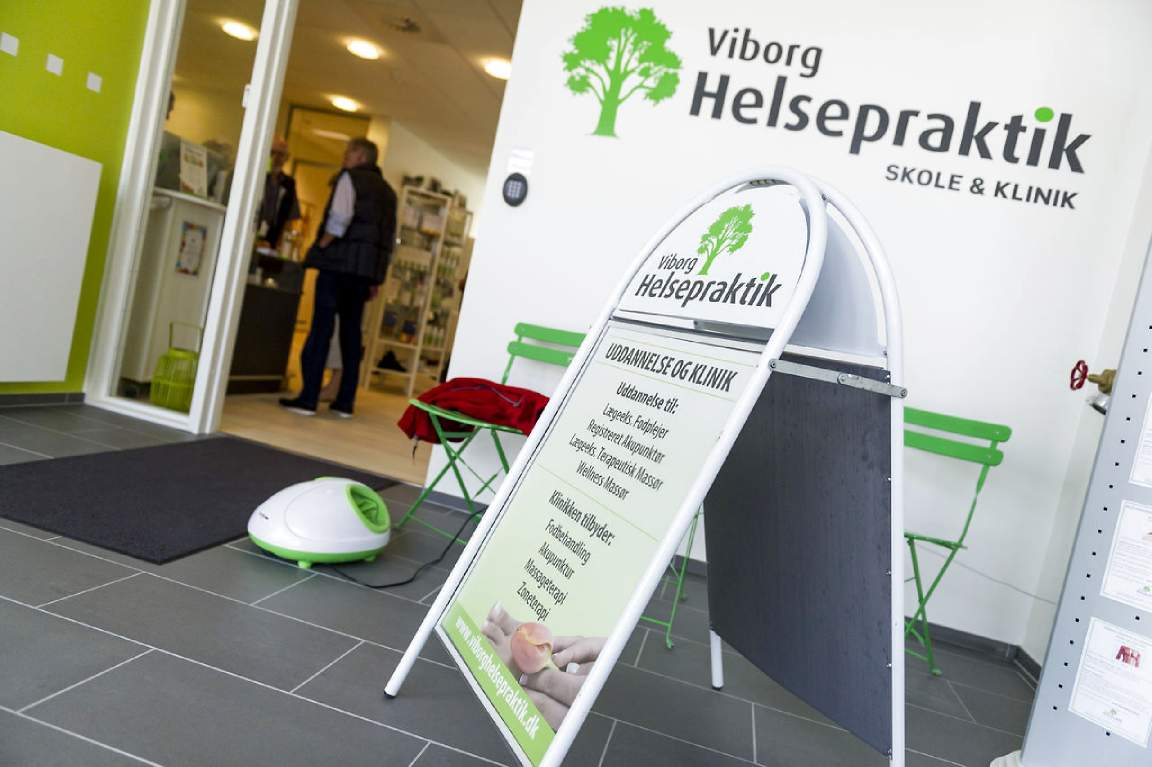 Viborg Helsepraktik Skole - Klinik - Butik
