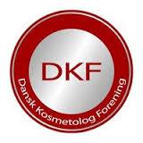 Dansk Kosmetolog Forening - DKF logo