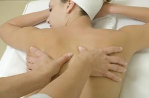 Terapeutisk massør behandling