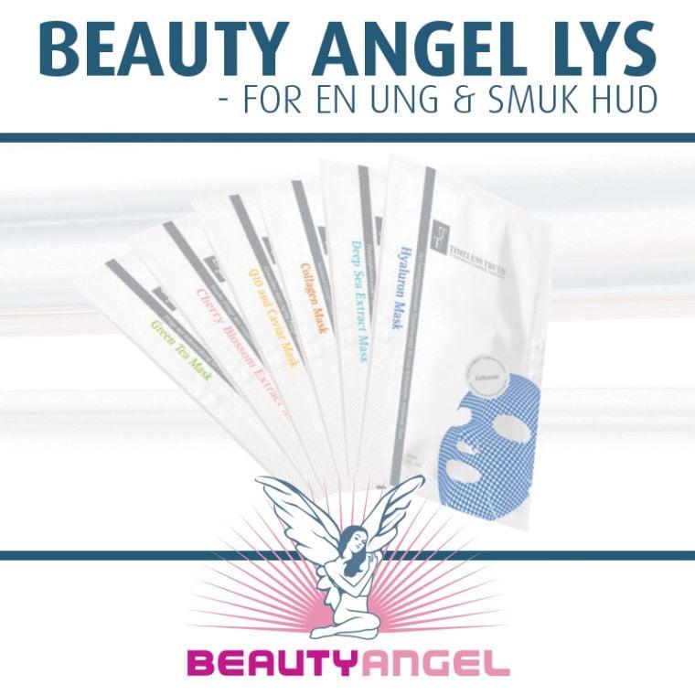 Beauty Angel lys og EMT maske i Viborg