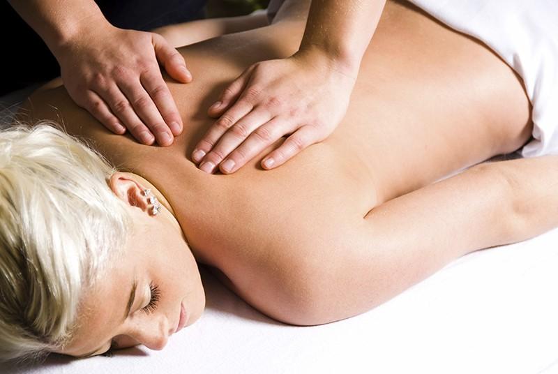 Afslappende terapeutisk massage