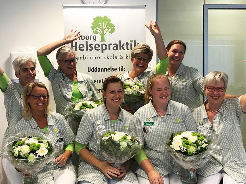 Nyuddannede fodplejere fra Viborg Helsepraktik