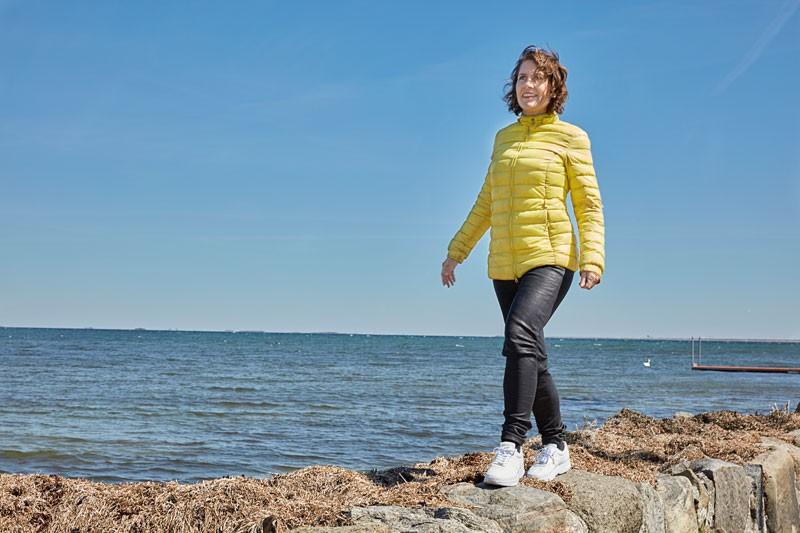 Mia Lyhne med GaitLine sko