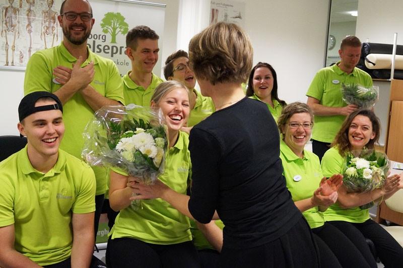 Uddannede massører fra Viborg Helsepraktik
