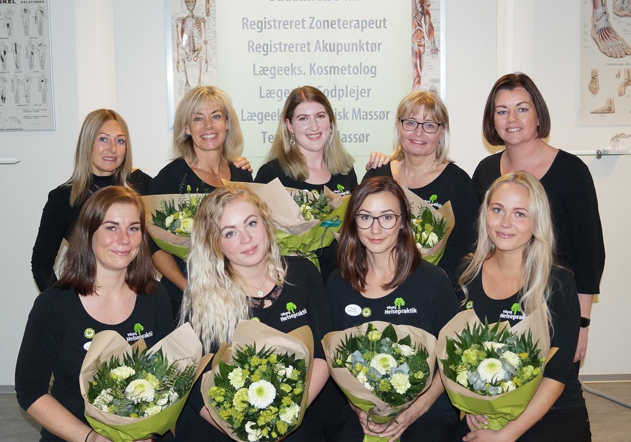 Nyuddannede kosmetologer fra Viborg Helsepraktik