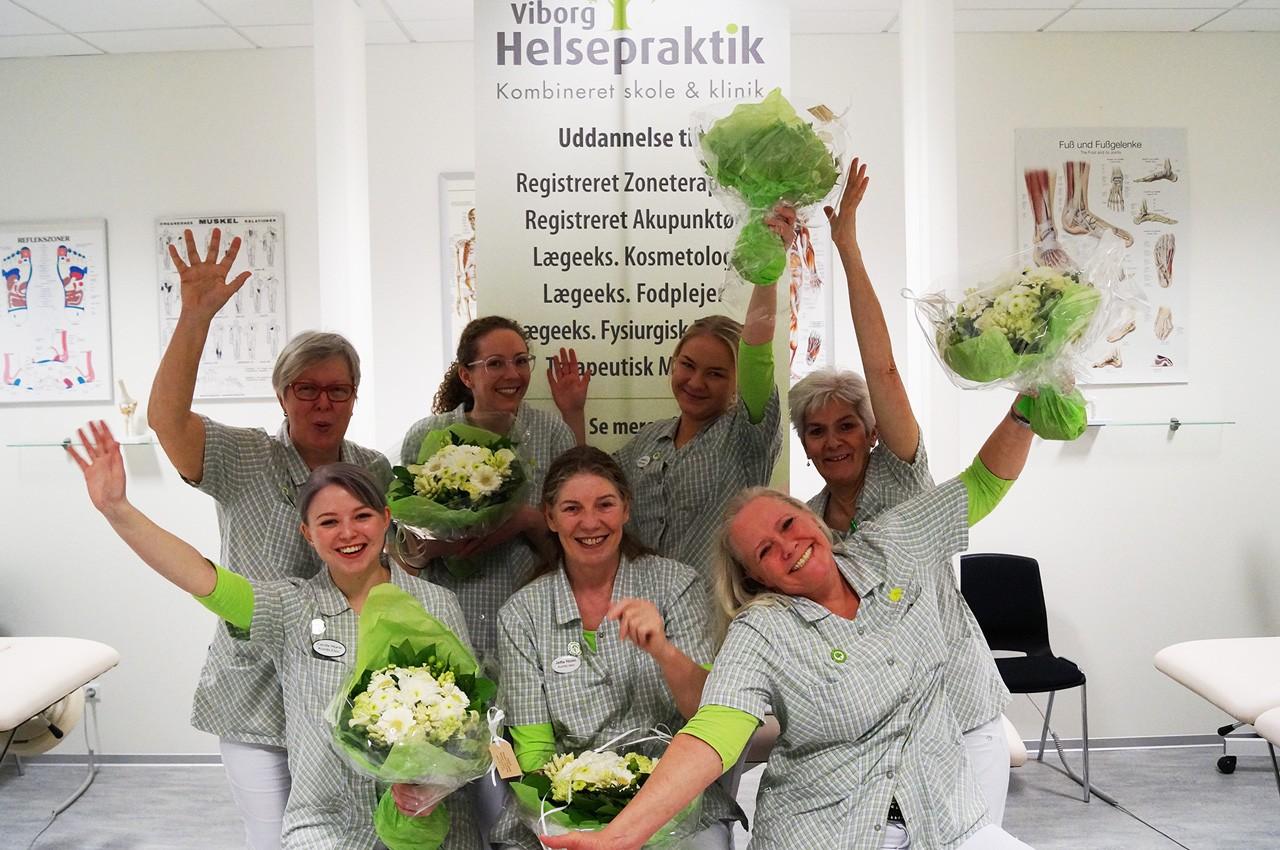 Glade SADF-Fodplejere fra Viborg Helsepraktik