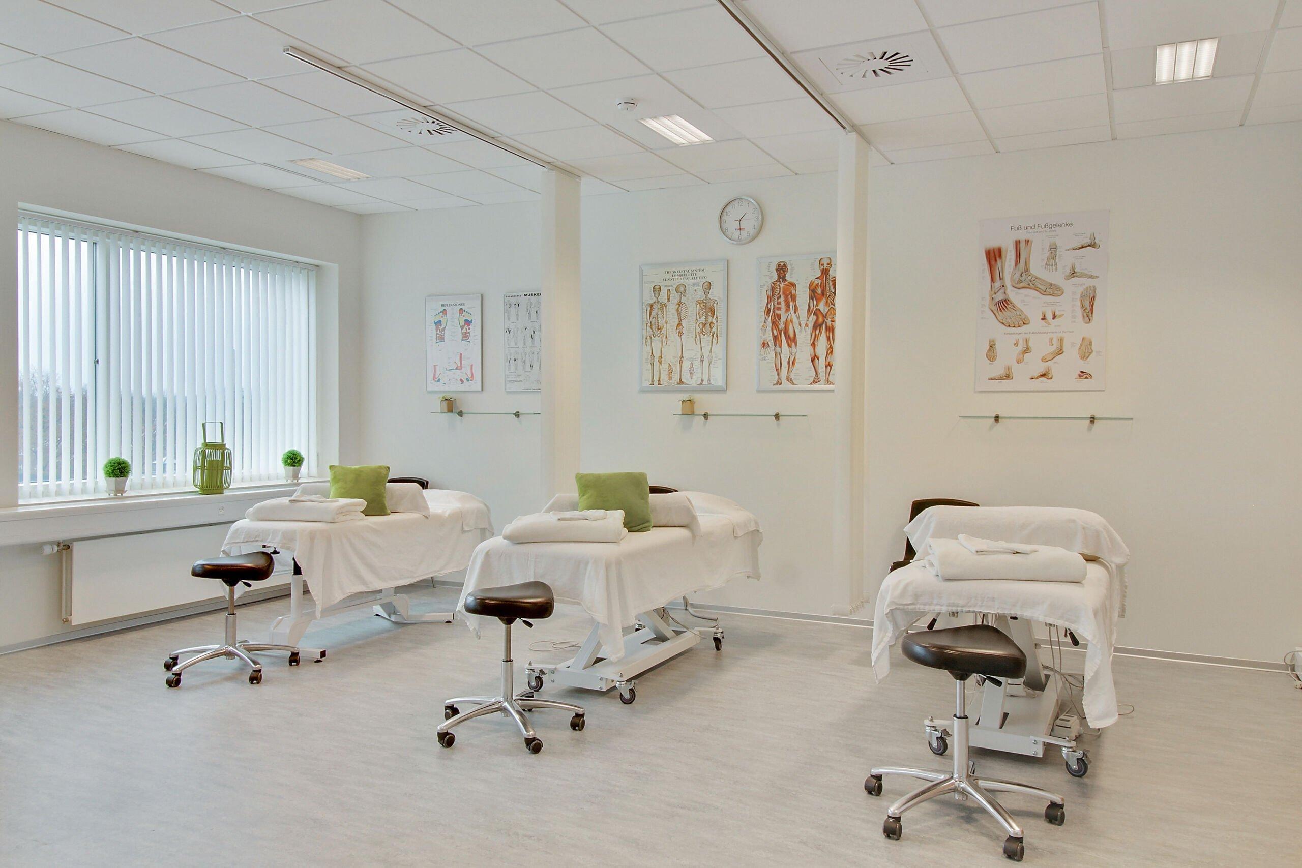 Behandler rum på Viborg Helsepraktik
